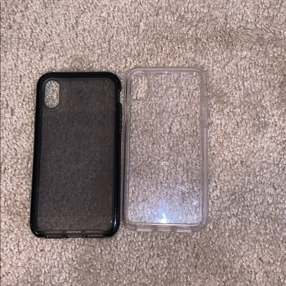best sneakers a0083 005e6 Tech 21 and spek iPhone X or Xs case